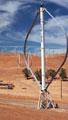 Turbina  Darius - Fonte: DEO/NREL, Warren Gretz