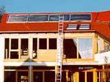 Colectores térmicos integrados - Fonte: Ao Sol